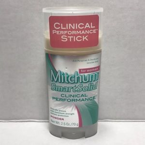 ♦️$3♦️ Mitchum smart solid clinical